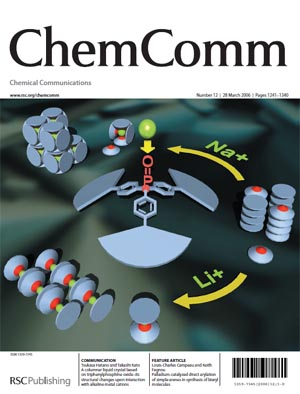 Chem. Comm. Cover Image